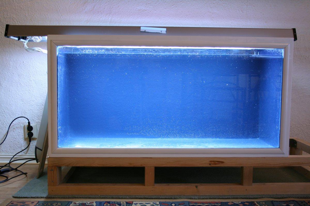Diy Fiberglass Polyester And Plywood Aquarium