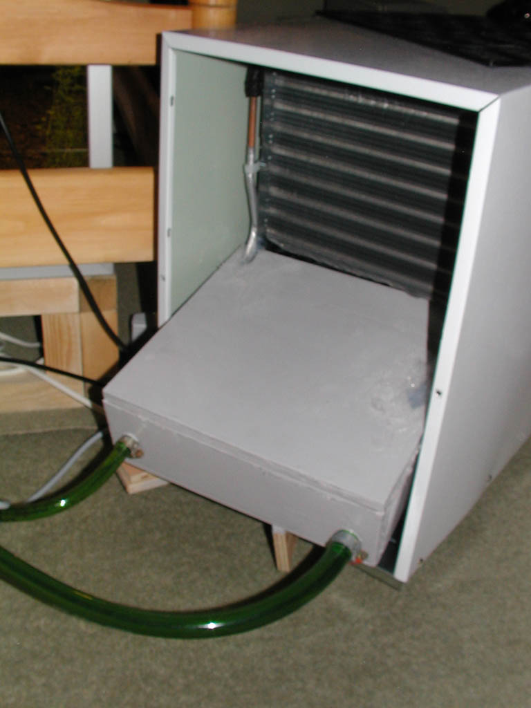DIY Chiller from air dehumidifier